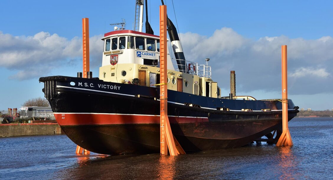 Scheduled drydockings for Carmet's V-Class Tugs
