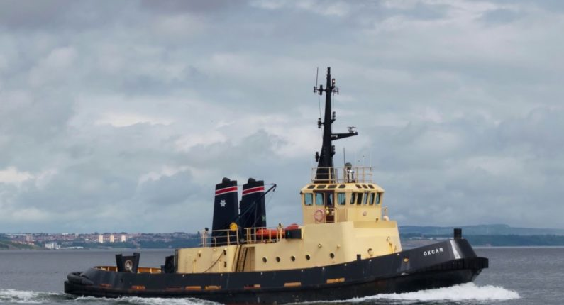 The latest addition to the fleet arrives on the Mersey